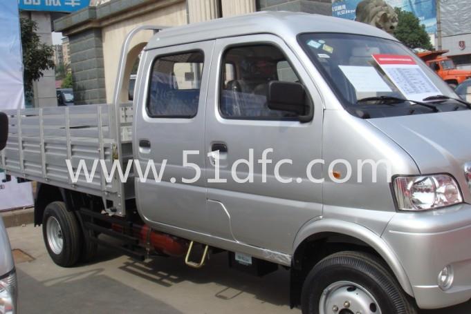 轻型载货汽车货车,东风双燃料双排载货车报价dfd1031nu1